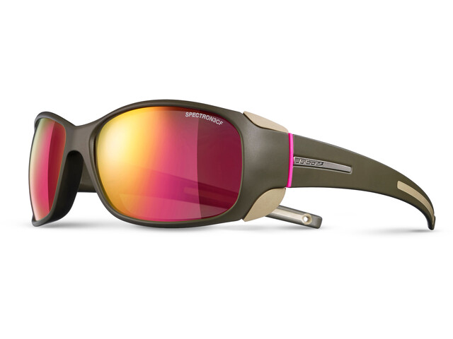 Julbo Monterosa Spectron 3CF Sunglasses Women Army/Camel/Pink-Pink